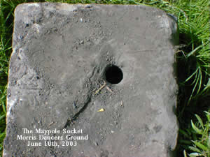 The Maypole Socket Stone (upside down!)